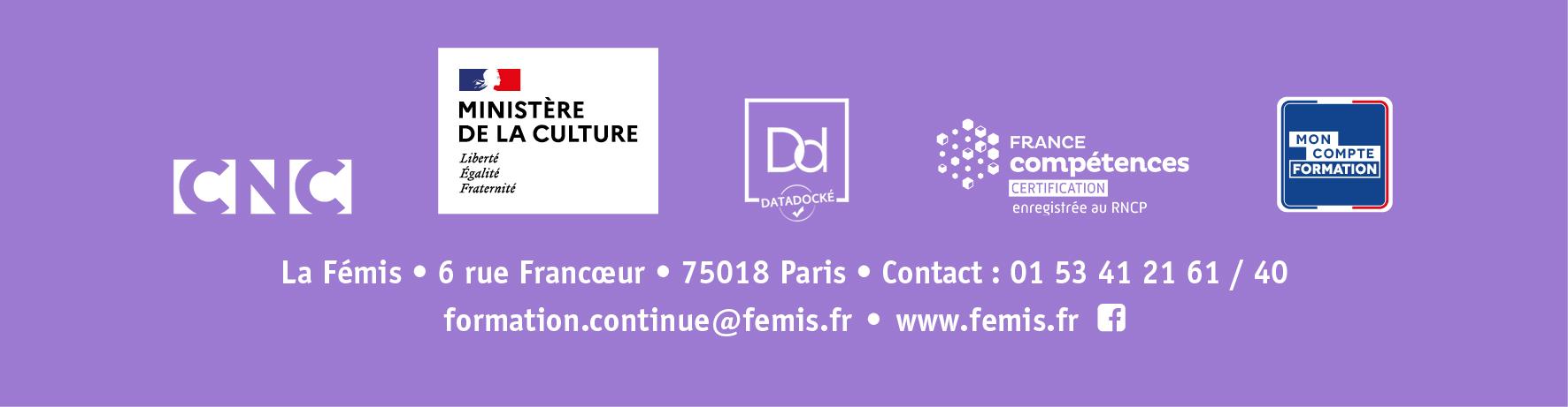 La Femis - Concevoir projet doc 2020
